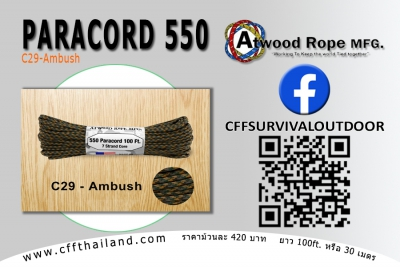 Paracord 550 (C29-Ambush)