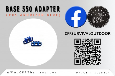 Base 550 Adapter (#05 Anodized)