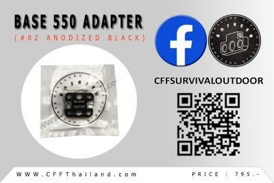 Base 550 Adapter (#02 Anodized)