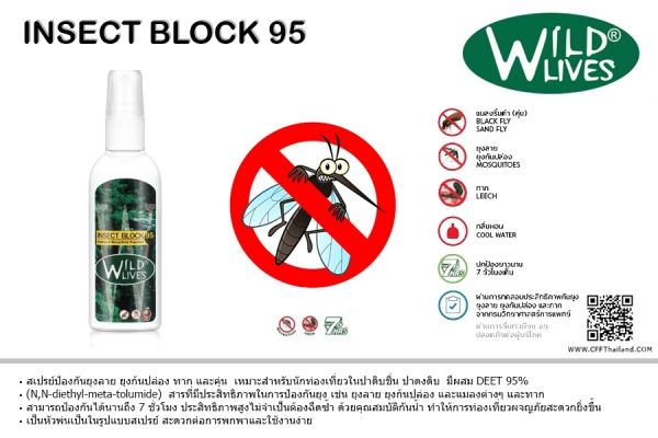 Wild Lives Insect Block 95