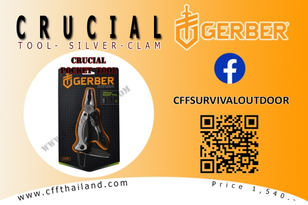 CRUCIAL SILVER-CLAM
