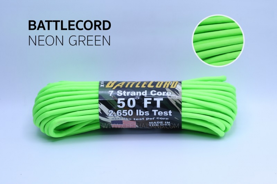 Battle Cord (S18-Neon Green)