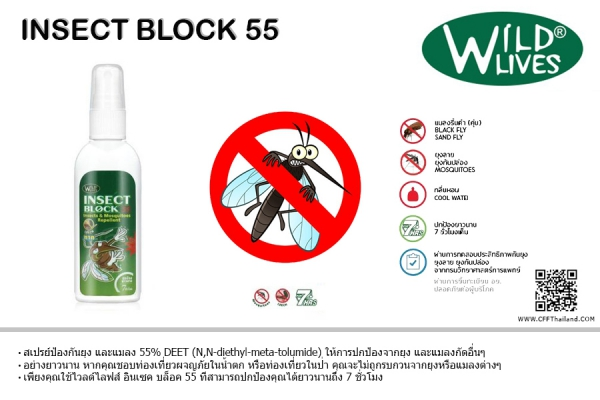 Wild Lives Insect Block 55