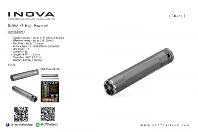Inova X5 High-Powered...