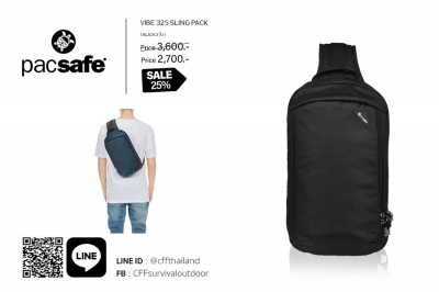 Pacsafe VIBE 325 SLING PACK