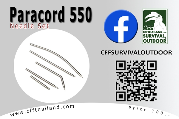 Paracord 550 Needle Set