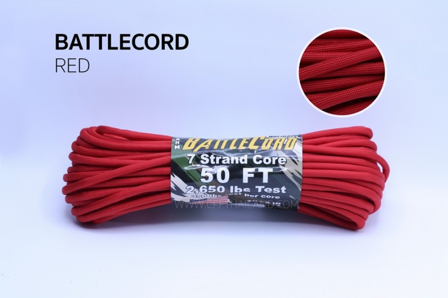 Battle Cord (S03-Red)